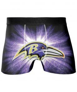 Baltimore Ravens Men's Underwear Boxer Briefs