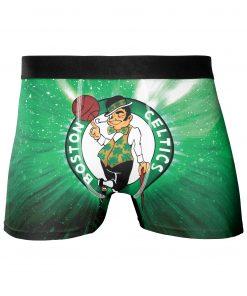 Boston Celtics Men's Underwear Boxer Briefs