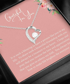 Grateful For You You It Is Such A Blessing To Have A Persin Like You In My lIfe Necklace