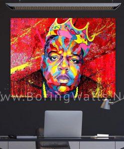 Biggie Smalls Crown Notorious BIG Luke Cage Canvas Poster