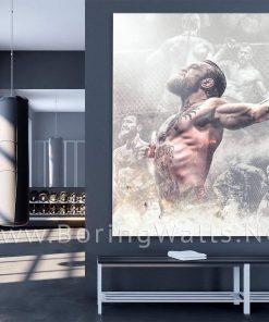 Connor Mcgregor decor Motivation UFC Champion Poster Canvas