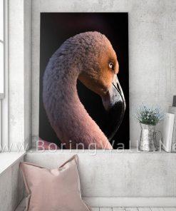Flamingo Wall Decor Poster Canvas
