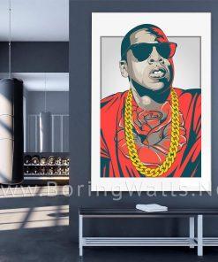 Jay Z billionaires club Hip Hop Poster Canvas