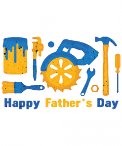 Tools Happy Fathers Day T-shirt