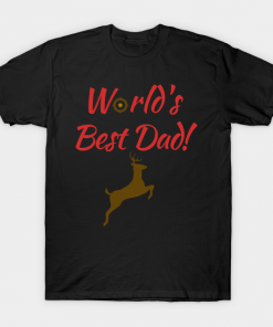 Worlds Best Hunting Dad T-Shirt