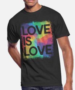 Marcus-love-is-love-geometric-lgbt-gay-pride-mens t-shirt-long Sleeve, hoodie