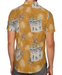BON VIV Hawaiian Shirts Beach Short
