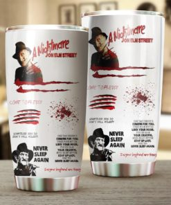 A Nightmare On Elm Street Tumbler 20oz 30oz