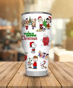 Charlie Brown Christmas steel Tumbler 20oz 30oz