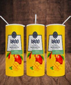 1800 Margarita Mango Skinny Tumbler 20oz 30oz 1