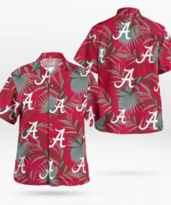 ALABAMA CRIMSON TIDE Hawaiian Shirts, Beach Short