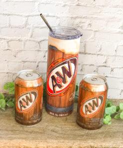 A&W Root Beer Skinny Tumbler 20oz 30oz