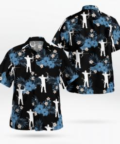 Archery Hawaiian Shirts, Beach Short