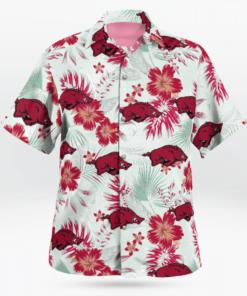 Arkansas Razorbacks Hawaiian Shirts, Beach Short