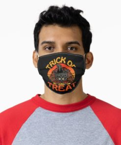 lack Cat Halloween Witchcraft Trick Or Treat Cat Face Mask
