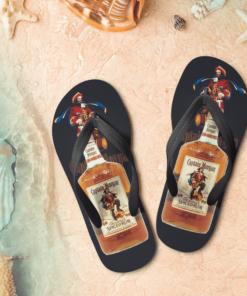 Captain Morgan Rum Flip Flops, beach sandals, pool slippers, shower shoes