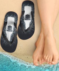 Smirnoff Ice Flip Flops, beach sandals, pool slippers, shower shoes