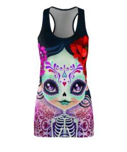 Amelia Calavera - Sugar Skull Halloween Costume Dress