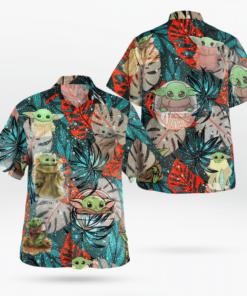 Baby Yoda Star Wars Hawaiian Shirts, Beach Short