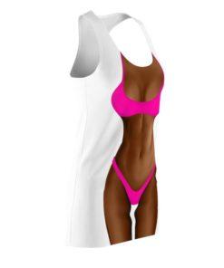 Latina Pink Bikini Costume Halloween 2021 Dress 2