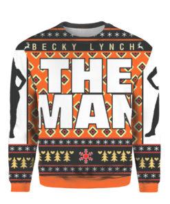 Becky Lynch Ugly Christmas Knit Sweater