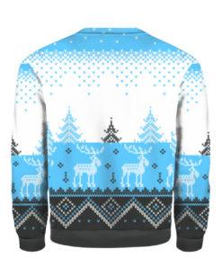 Carolina Panthers Big Logo 2021 Knit Ugly Pullover Christmas Sweater