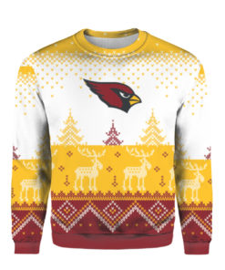 Arizona Cardinals Big Logo 2021 Knit Ugly Pullover Christmas Sweater