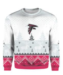 Atlanta Falcons Big Logo 2021 Knit Ugly Pullover Christmas Sweater