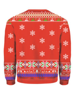 Donald Trump back 2 back impeachment champion Ugly Christmas Sweater
