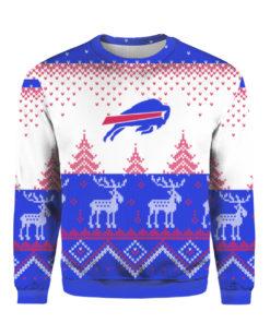 Buffalo Bills Big Logo 2021 Knit Ugly Pullover Christmas Sweater