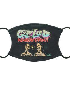 AGNOSTIC FRONT Graffiti Hardcore Get Loud Face Mask