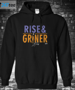 Hoodie BRITTNEY GRINER RISE AND GRINER Shirt