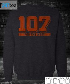 Sweatshirt 107 FOR THE WEST San Fransisco T shirt