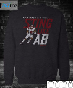 Sweatshirt ANTONIO BROWN FLOAT LIKE A BUTTERFLY STING LIKE AB T shirt