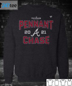 Sweatshirt Atlanta Braves 2021 Pennant Chase Nike T Shirt Sweatshirt Hoodie
