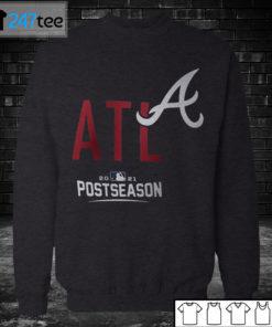 Sweatshirt Atlanta Braves 2021 Postseason T shirt