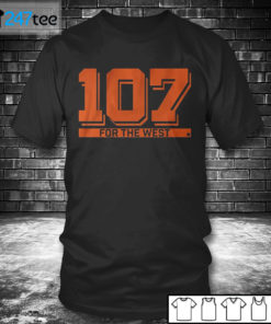 T shirt 107 FOR THE WEST San Fransisco T shirt