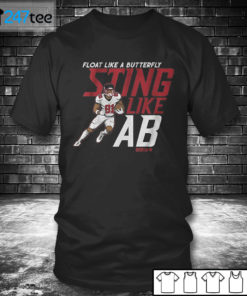 T shirt ANTONIO BROWN FLOAT LIKE A BUTTERFLY STING LIKE AB T shirt