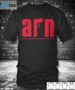 T shirt ARRN Spilling Brains on the concrete since 1982 Shirt