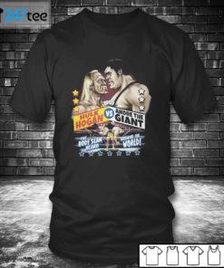 T shirt Andre The Giant vs Hulk Hogan RSVLTS T Shirt