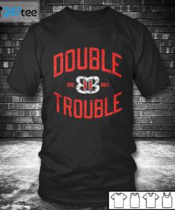 T shirt Bella Twins Double Trouble T Shirt